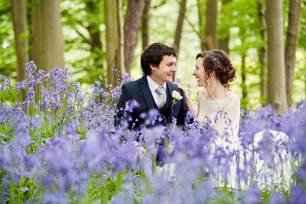 Bluebell wedding