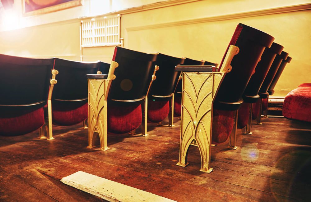 Electric Palace art deco chairs