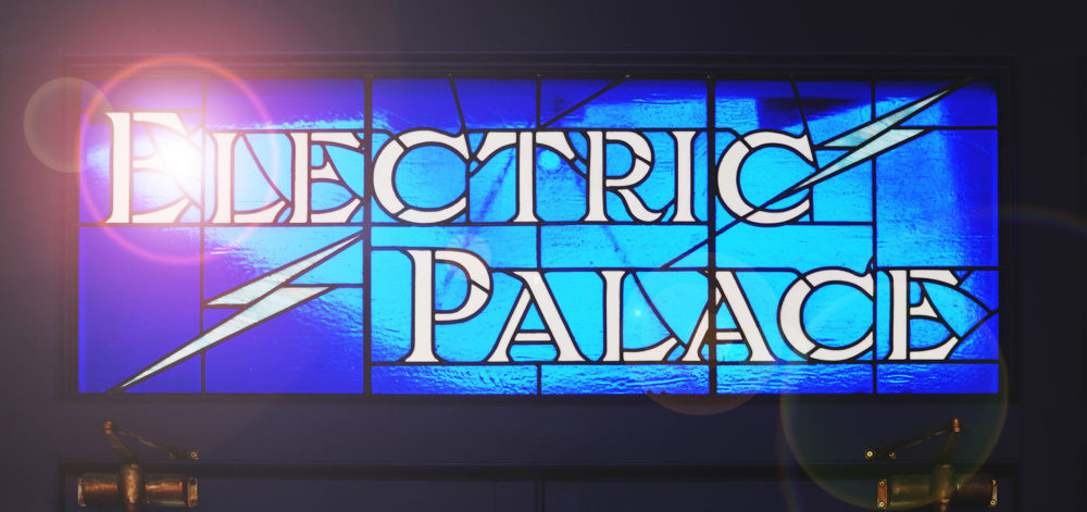 Electric Palace stained glass