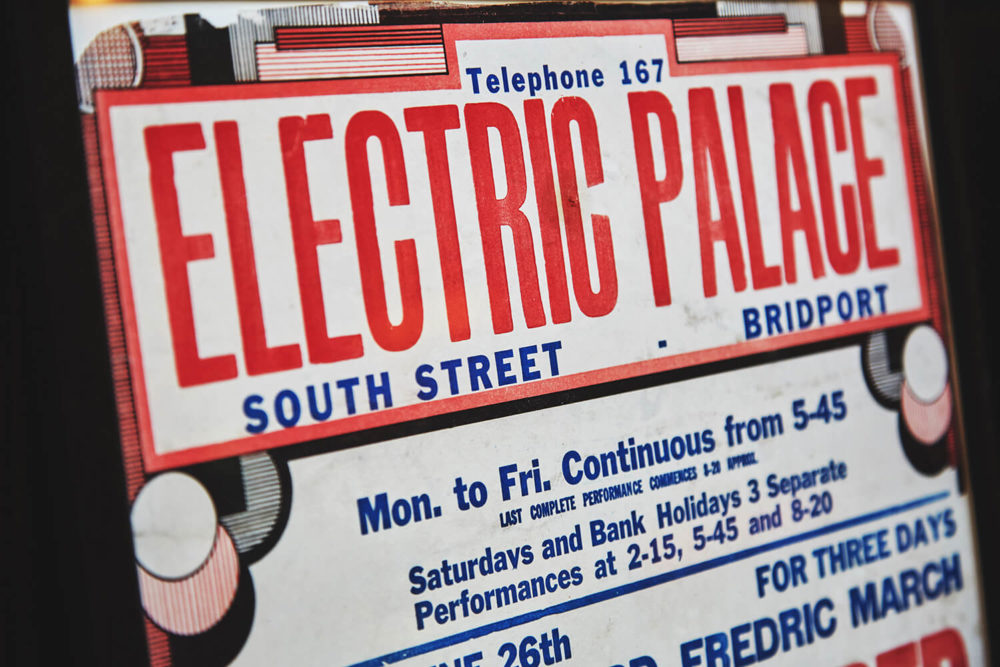 Electric Palace vintage poster