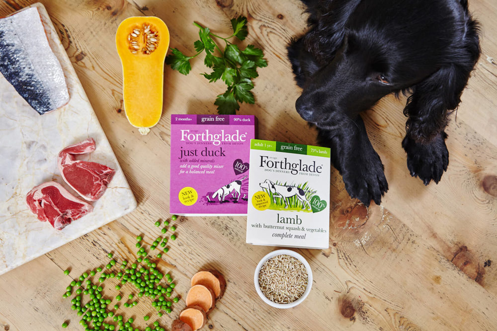 Forthglade clean eating dog food