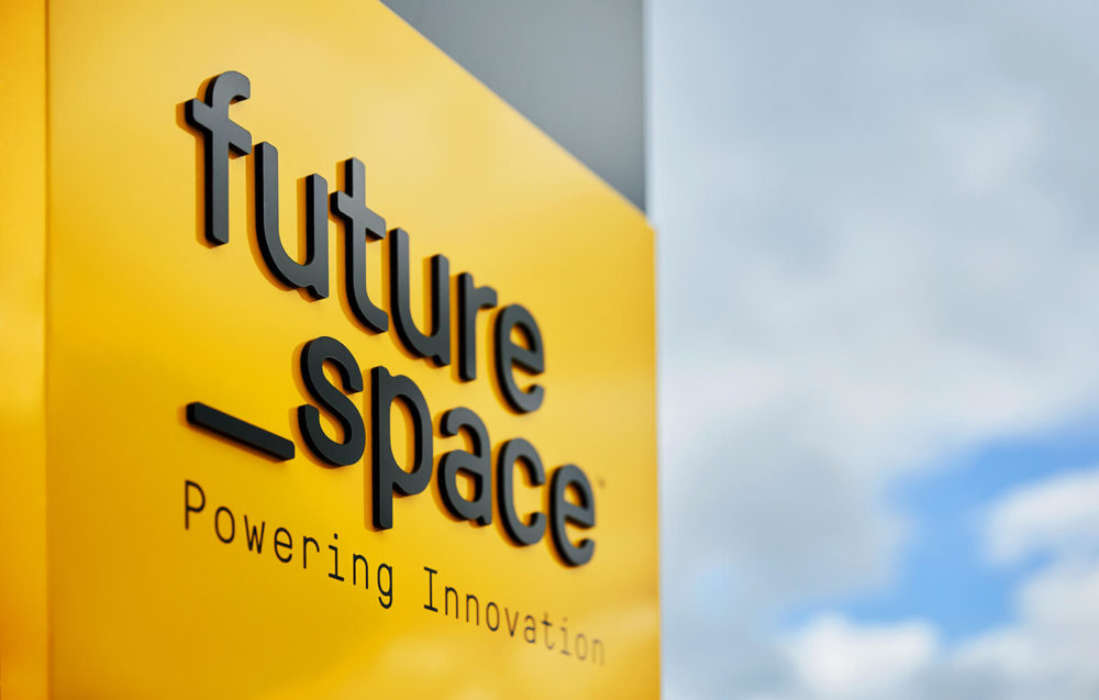 Future Space signage