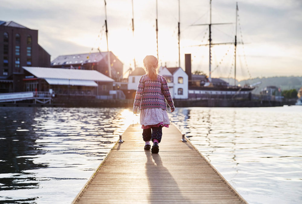 SS Great Britain sunset