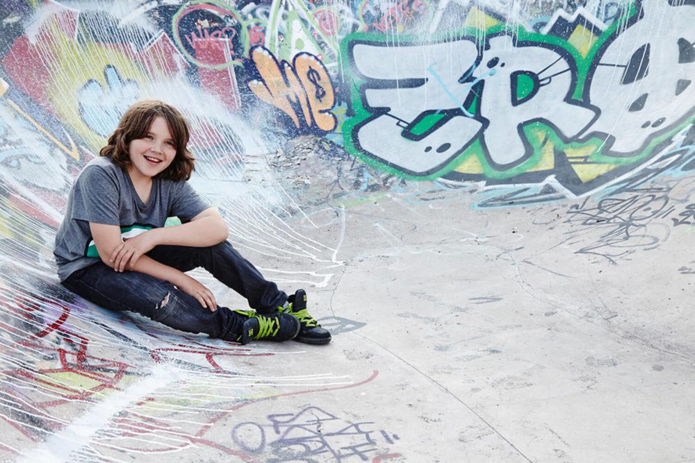 Skate park portrait