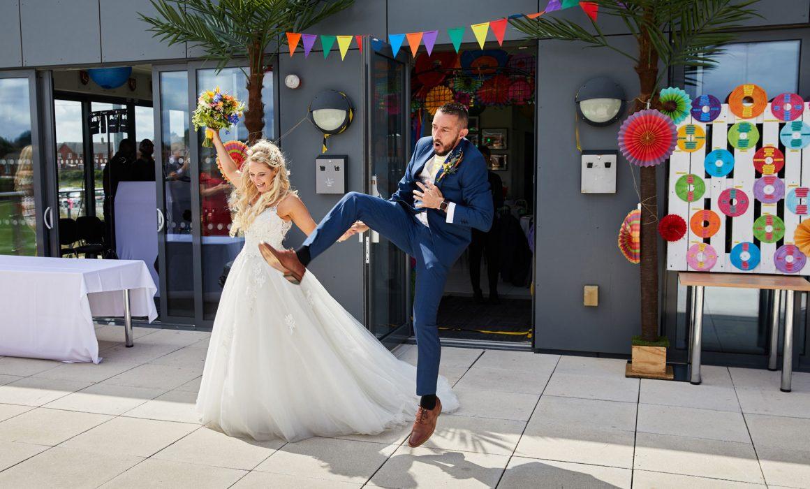 Lockleaze Sports Centre Wedding